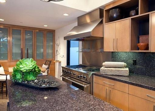 厨房大理石台面 大理石洗脸盆台面图片