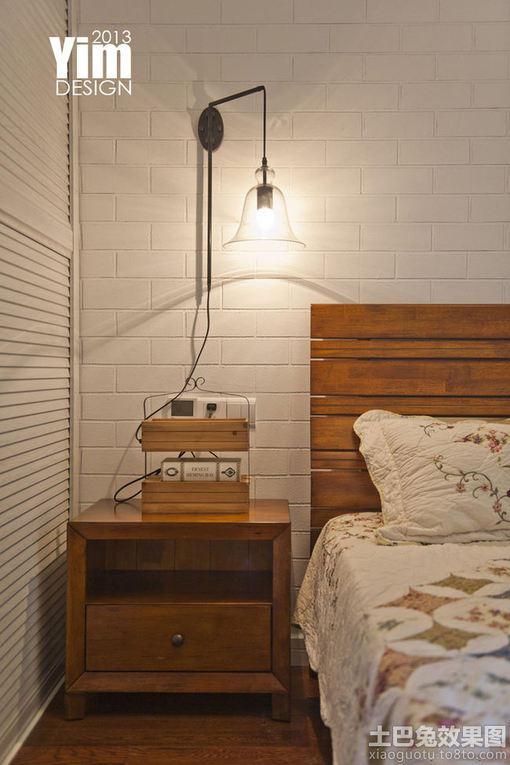 主卧床头柜效果图_【卧室床头柜、电视柜、床中式风格VS现代简