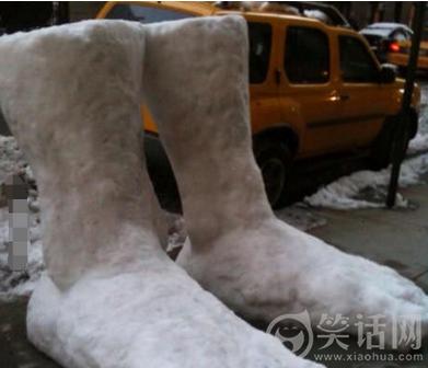 堆雪人技艺高超呀