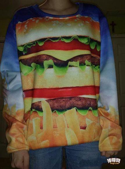 新买的衣服,你们看看好不好吃