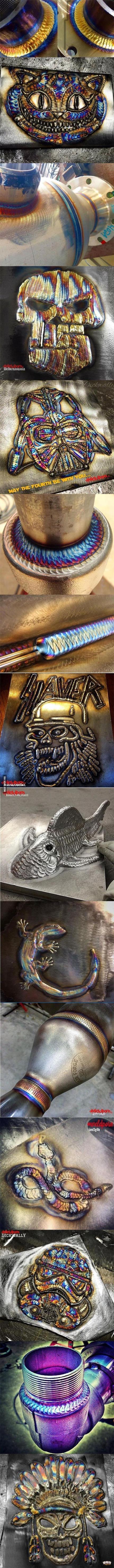 电焊的艺术!