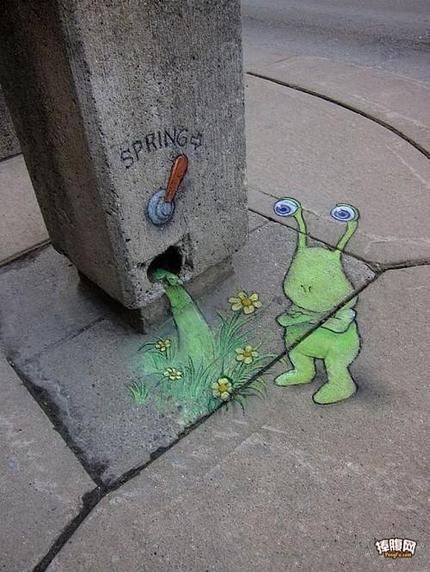 流浪在城市街头的可爱小居民