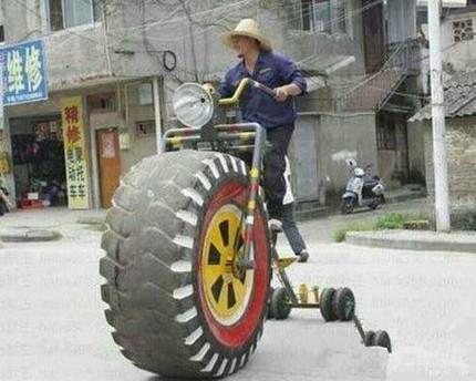 史上最拉风的自行车
