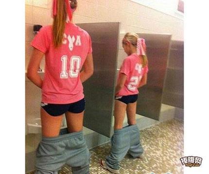 到底是走没走错厕所啊