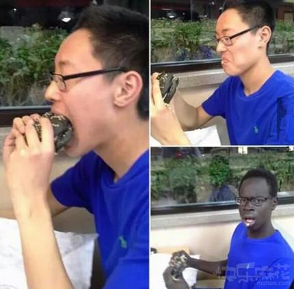 吃个汉堡都中毒了